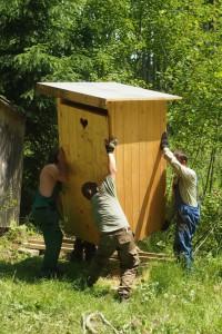 Lesní klub Napísek funguje i díky podpoře a pomoci rodičů dětí.